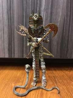 🚚 McFarlane Mummy Monsters series 1 ( spawn Egypt pharaoh king pyramid great Giza cobra snake prince of toilet paper )