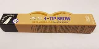 🚚 Etude house Tint My 4 tip Brow - #01 Natural Brown