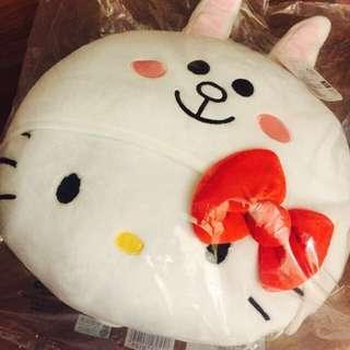 🚚 限量💕711集點 Hello Kitty X LINE 兔娃娃聯名 缺貨款 可愛抱枕娃娃