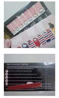 Hello kitty nail sticker / stiker kuku