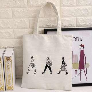🚚 Beffory Women Casual Canvas Tote Bag