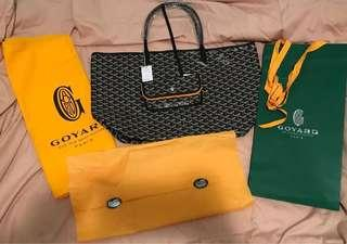 Goyard GM tote bag (used only a few times, almost liked new)
