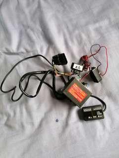 Pedal box throttle controller