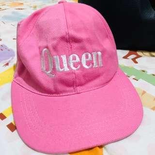 Topi Pink Queen