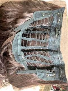 半頭式假髮片