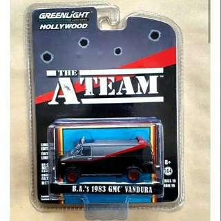 Diecast Mobil 90s TV series The A-Team
