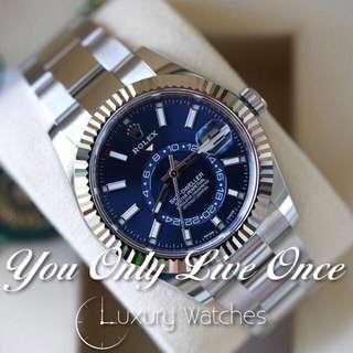 Rolex Sky Dweller Blue 326934