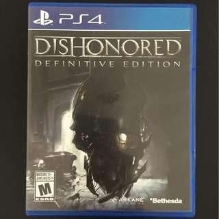 Dishonored Difinitive Edition (PS4)