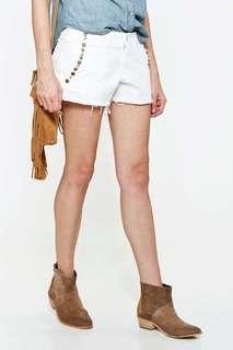 Denim & Supply Ralph Lauren Denim Studded Shorts