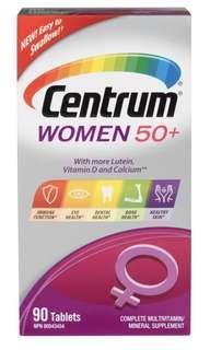 🇨🇦🇨🇦善存-Centrum Women 50+ Multivitamin