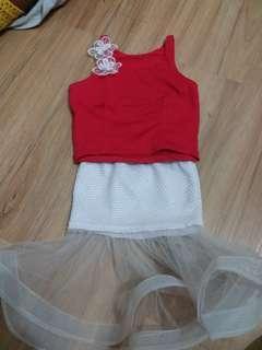 Set top n skirt