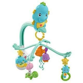Fisher price soothe and play seahorse mobile