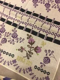 全新Anna Sui 三角圍巾/ 頸巾/手巾