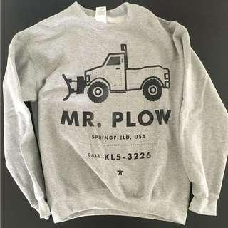 Simpsons Mr Plow Christmas Sweater (Mens Small)