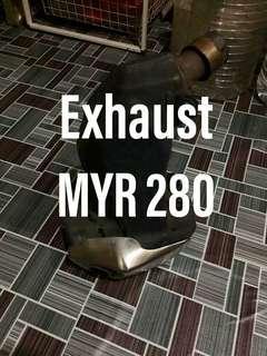 KTM DUKE 2014 Stock Exhaust