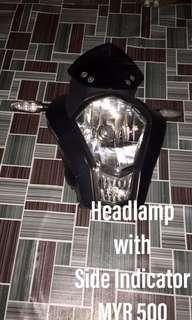 KTM DUKE 200 Headlamp with side indicator