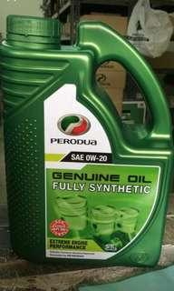 Perodua 0/20w engine oil