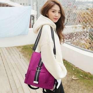 Free Pos ready stock Anti theft fashion casual leisure oxford bagpack women bagpack