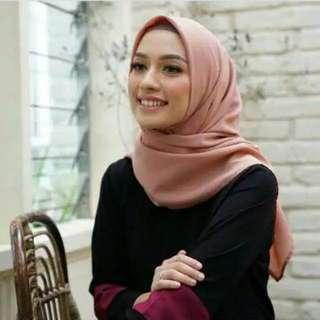 Hijab imperial crepe by Heaven Lights
