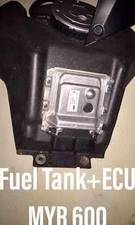 KTM DUKE 200 Fuel Tank&ECU