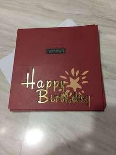 🚚 Birthday cards