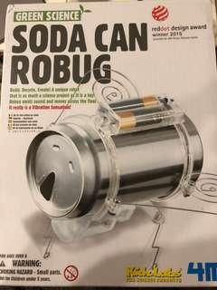 Soda can robug - Green Science