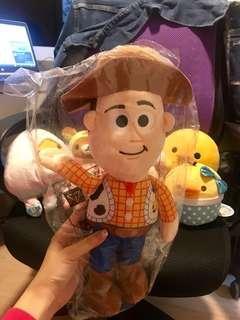 Woody 胡迪 toy story 公仔 buzz