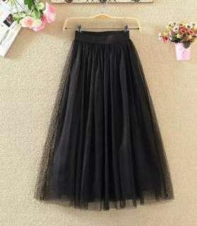 Tutu Skirt cute Black