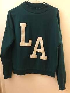 H&M Hunter Green Crewneck Sweater
