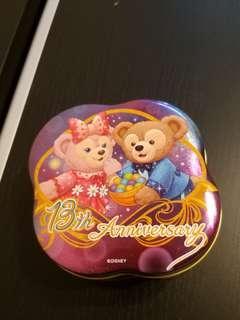 迪士尼 鐵罐 13週年限定 Duffy