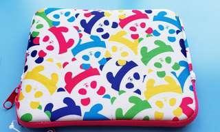 全新旅行A5 size Panda pad case, 防水布料