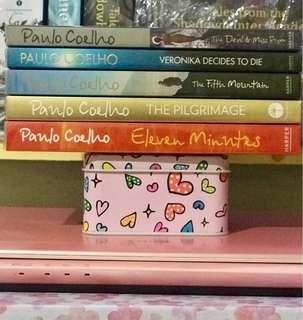 Paulo Coelho (5 books) + free ebooks