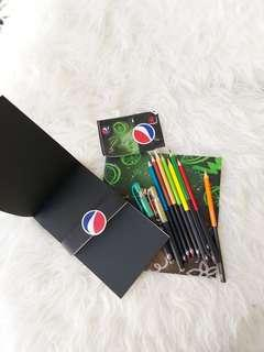 Pepsi Art Supplies & Tumbler