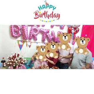生日氣球 Birthday Balloons Decorations 大量好評