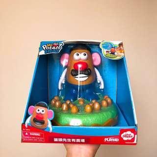 蛋頭先生農場遊戲 Toystory 玩具總動員 Mr.Potato Head 鱷魚牙齒 海盜桶
