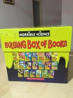 Horrible Science- bulging box books