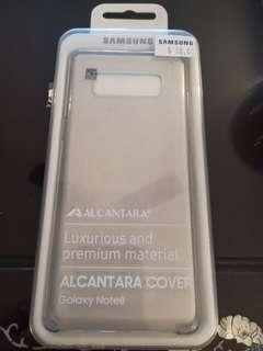 🚚 Samsung Note 8 Alcantara Cover