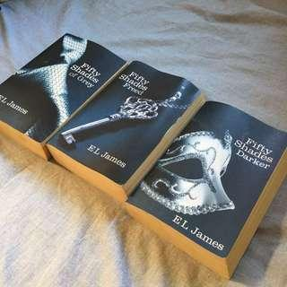 FIFTY SHADES - all 3 books for $15