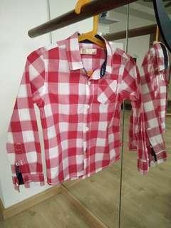 🚚 2 pieces of PDI Boy Shirts 4T/5T