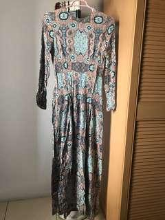 Perfect for Raya!!! H&M Mozaic Maxi Dress