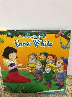 🚚 My Fairy Tale Library- Snow White hardcover Storybook