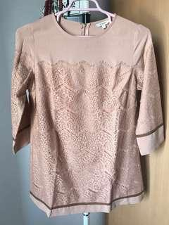 Perfect for Raya!!! Et Cetera Nude Cream Tunic