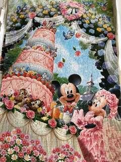 🚚 Completed Disney puzzle from Japan