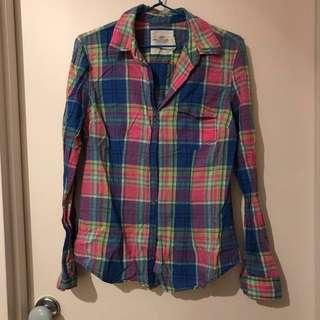 H&M Plaid Top 3 for $10