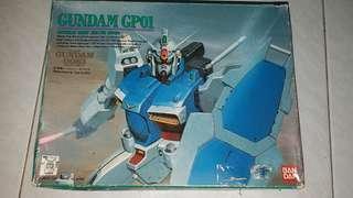 BANDAI 高達模型 CUNDAM GP01 RX-78
