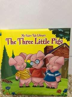 🚚 The Three Little Pigs Hardcover Storybook