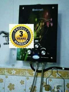 Water heater gas tnp listrik yg mmbntu mndii air hangat bgus menghilangkan kuman dan jerawat hidup jdi sehat mndi hangat tnp listrik