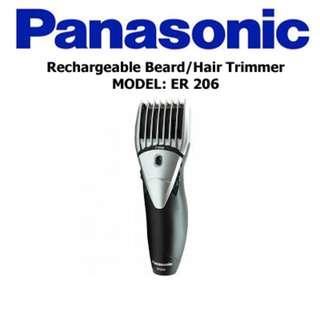 PANASONIC - Rechargeable Beard & Hair Trimme/Clipper, ER206