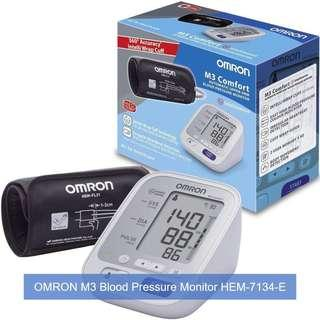 [April Sales] Brand New & Authentic OMRON Healthcare M3 Comfort Upper Arm Blood Pressure Monitor and FREE SAME DAY DOORSTEP DELIVERY at S$83!