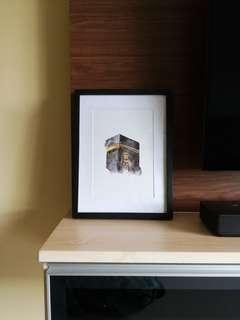 Ka'bah Picture with Frame